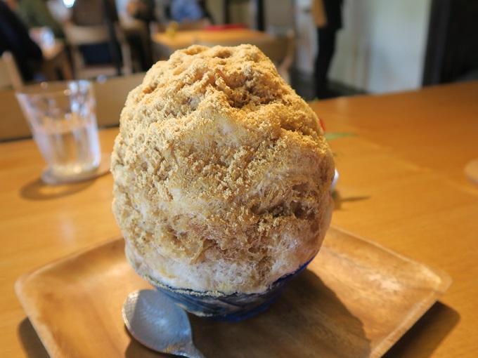 restaurant+cafe いろは かき氷 ほうじ茶